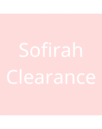 Sofirah Clearance for old package