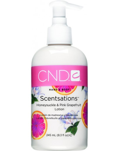 CND Honeysuckle & Pink Grapefruit Lotion - 8.3oz