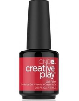 CND Creative Play Gel Polish Red-y To Roll - .5 oz