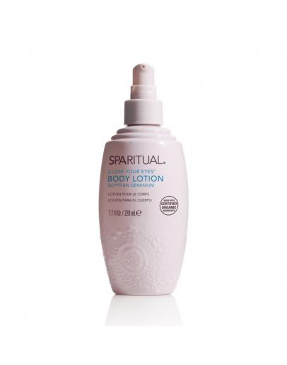 SpaRitual Organic Moisturizing Lotion / Close Your Eyes 7.7oz
