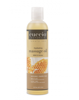 Cuccio Naturale Hydrating Massage Oil, 8 oz