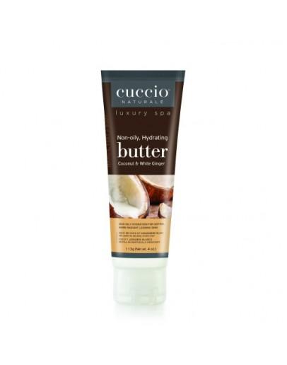 Cuccio Naturale Butter, 4 oz Coconut & White Ginger