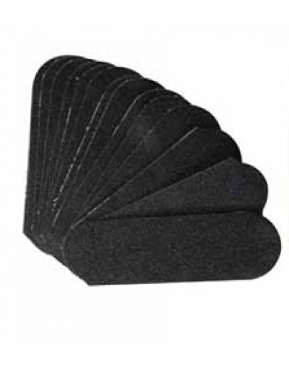 Cuccio Naturale Abrasive Paper Refills, 50 Pack (Pedicure/Black)