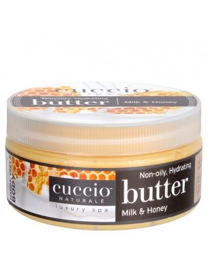 Cuccio Naturale Butter, 8 oz Milk & Honey