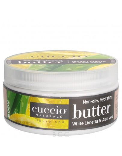 Cuccio Naturale Butter, 8 oz White Limetta & Aloe Vera