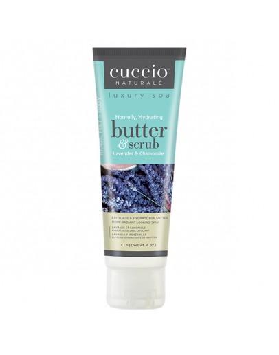 Cuccio Naturale Butter & Scrub, 4 oz, Lavender & Chamomile