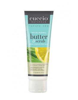 Cuccio Naturale Butter & Scrub, 4 oz, White Limetta & Aloe Vera