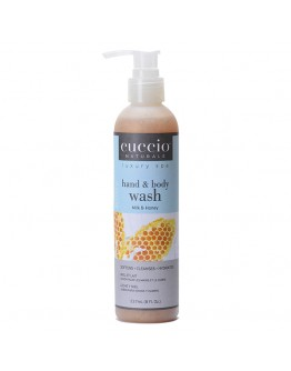 Cuccio Naturale Body Butter Wash, 8 oz, Milk and Honey