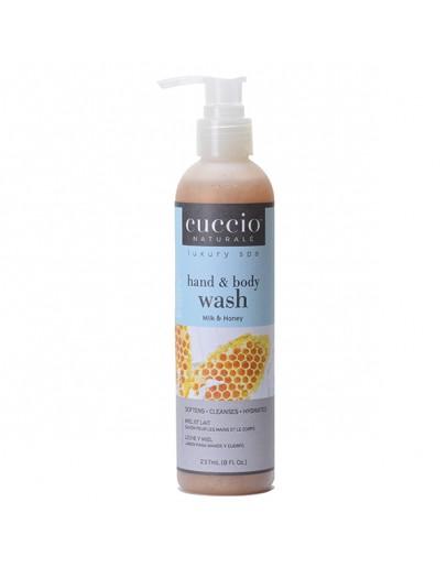 Cuccio Naturale Body Butter Wash, 8 oz, Milk and Honey