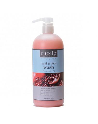 Cuccio Naturale Body Butter Wash, 32 oz, Pomegranate & Fig