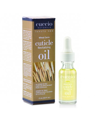 Cuccio Naturale Revitalizing Cuticle Oil, 0.5 oz, Wheat Germ