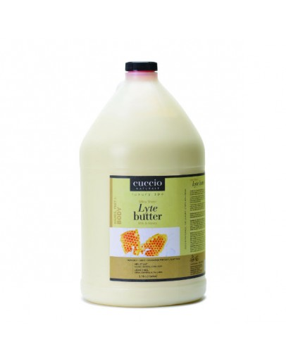 Cuccio Lytes Ultra Sheer Body Butter, Gallon Milk & Honey