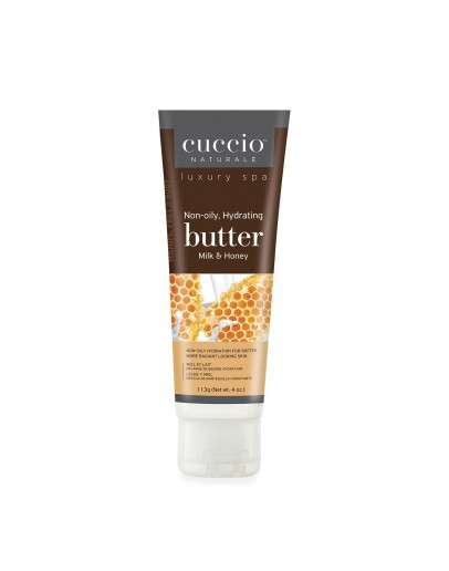 Cuccio Naturale Butter, 4 oz Milk & Honey