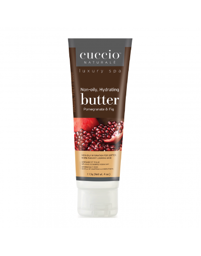 Cuccio Naturale Butter,  4 oz Pomegranate & Fig