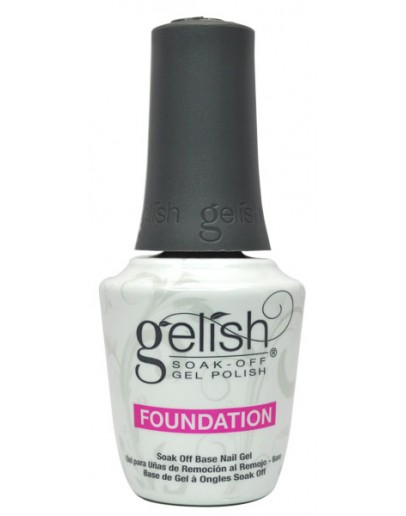 Gelish Soak OFF Gel Polish - FOUNDATION - 15 ml. 0.5 oz.