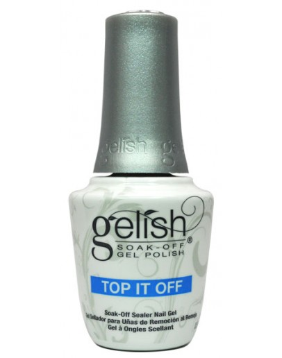 Gelish Soak OFF Gel Polish - TOP IT OFF - 15 ml. 0.5 oz