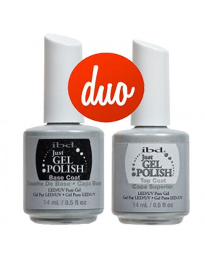 ibd Just Gel Polish Base Coat & get Top Coat DUO Set