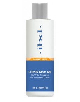 ibd LED/UV Clear Gel 8oz