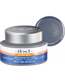 ibd LED/UV Builder Gel Clear - .5 oz