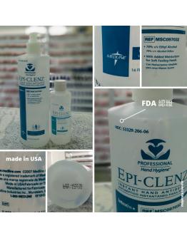 EPI-CLENZ, INSTANT HAND SANITIZER, 16 OZ+ 4OZ (酒精搓手液) 順豐免運費