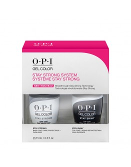 OPI Stay Strong Base Coat & Stay Shiny Top Coat Duo Pack