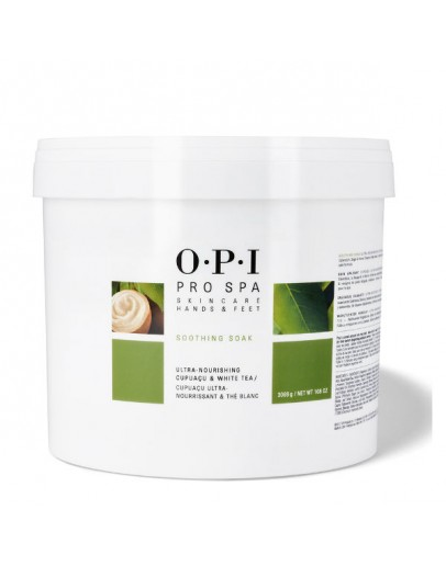 OPI Pro Spa Soothing Soak, 108 oz