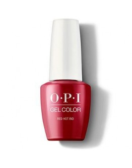 0.25 oz Opi Gel Color Red Hot Rio