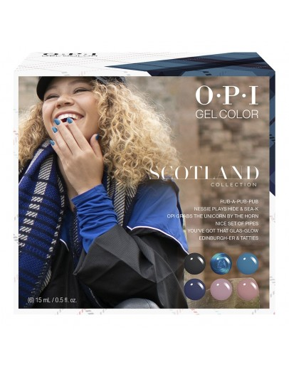 OPI GelColor Scotland Collection