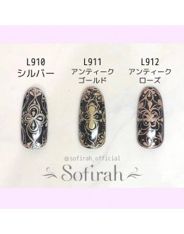 L911 Metallic Liner Antique Rose