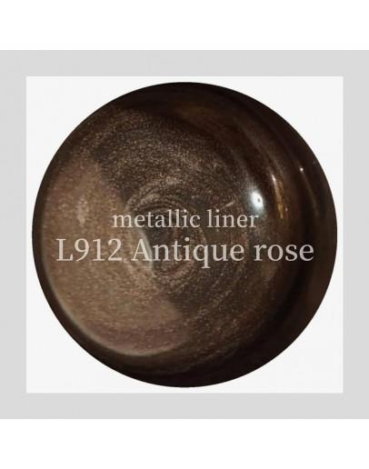 L911 Metallic Liner Antique Rose