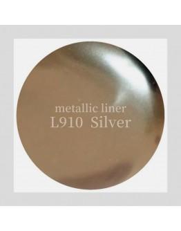 L910 Metallic Liner Silver