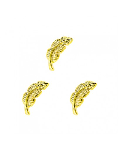 Curve Feather Gold