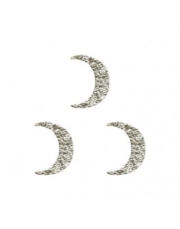 Crescent moon flat Sliver