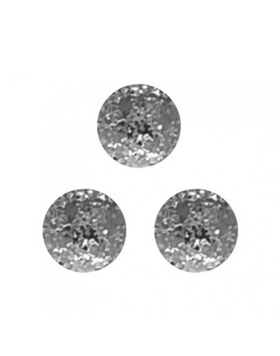 Round Matte 3.5mm Silver