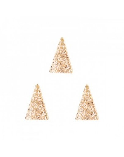 Long Triangle Matte L  Pink Gold