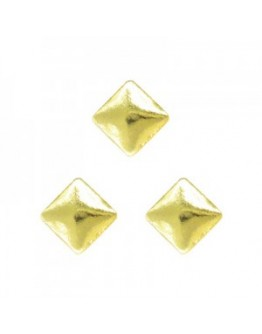 Square 2mm Gold