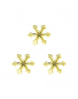 Asterisk Gold 5mm