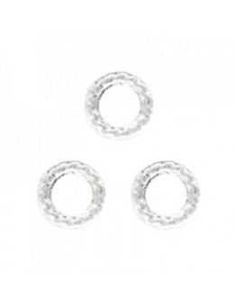 Rough Circle 3mm Sliver