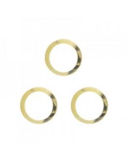 Hollow Circle M Gold