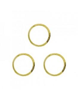Hollow Circle L Gold