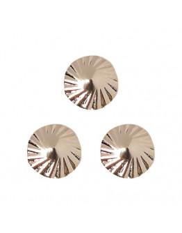 Spiral Round S gold 4mm
