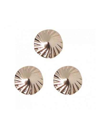 Spiral Circle S Pink Gold
