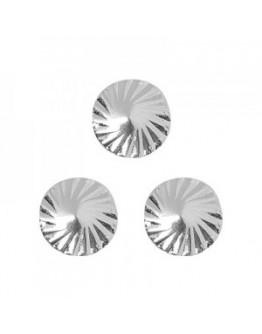 Spiral circle S Sliver 4mm
