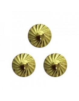 Spiral Circule M Gold