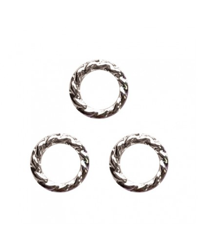 Twist ring 5mm Silver
