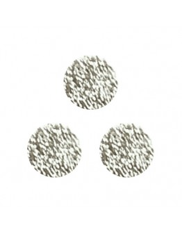 Matte Disc 3mm Silver