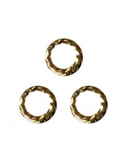 Screw Ring Gold 6mm