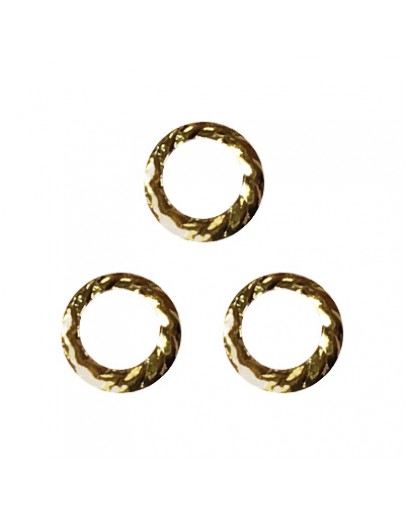 Screw Ring Gold 6mm