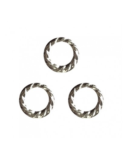 Screw Ring Silver 6mm