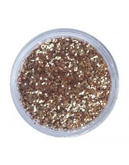 Rose Gold Glitter M